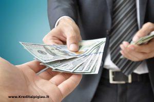 refinansavimas isiskolinusiems