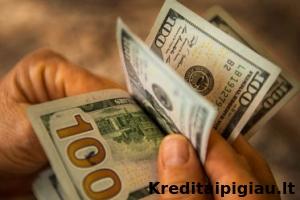 paskolos skolininkams